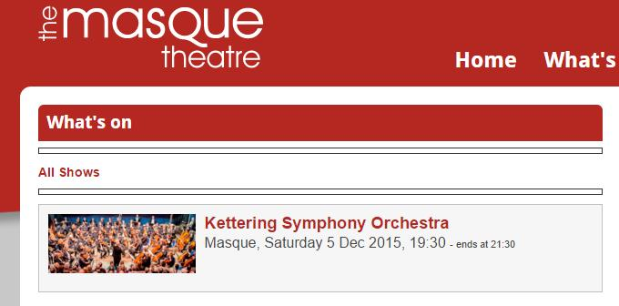 kso winter concert masque theatre 2015