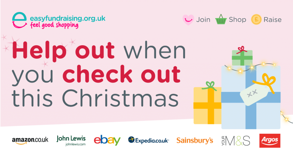 easy fundraising christmas donations banner